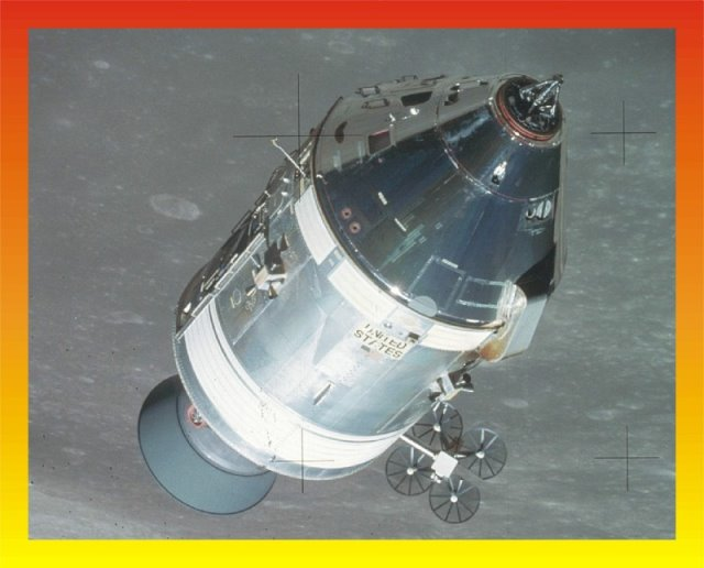 Apollo 148 CSM Block II H mission detail set from New Ware
