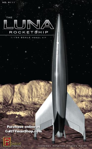 Luna Rocketship 1144 scale from Pegasus Hobbies
