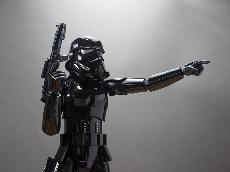 Shadow Stormtrooper 16 from Bandai