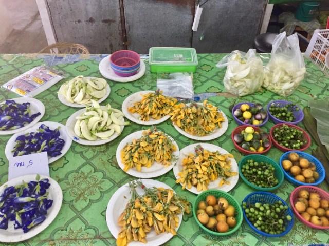 Local market near Chiang Mai