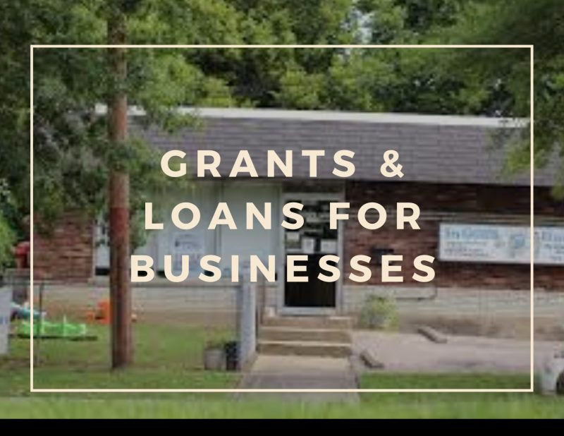 Grants & Loans for businesses