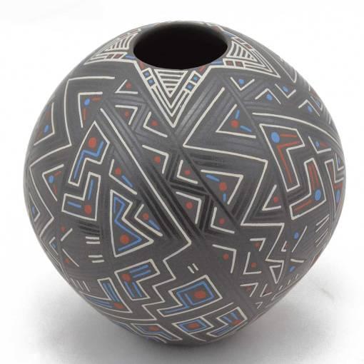 Sara Ramirez Silva Sara Ramirez Silva: Small Abstract Mata Ortiz Pottery