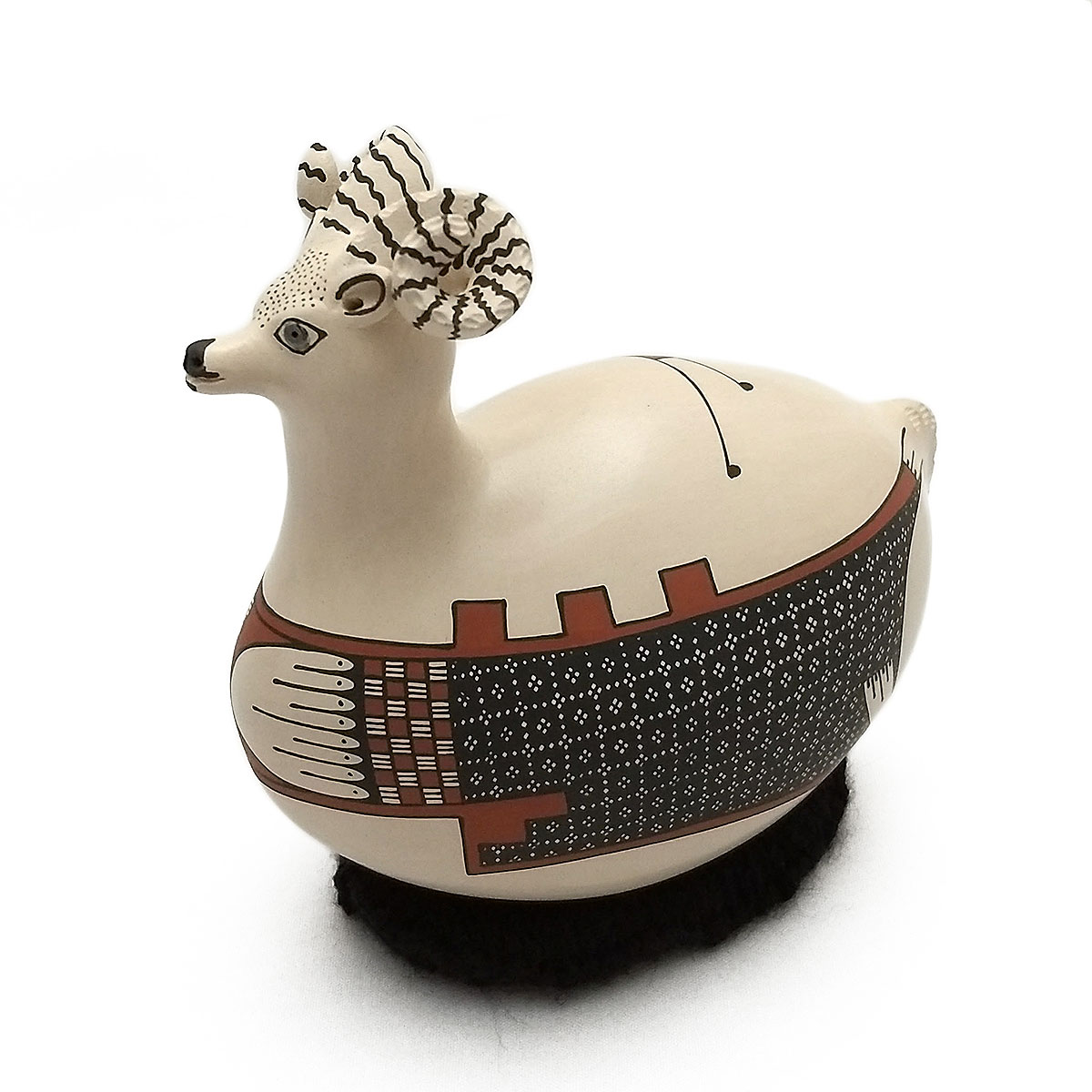 Gerardo Tena Gerardo Tena: Small Bighorn Effigy Bighorn Sheep