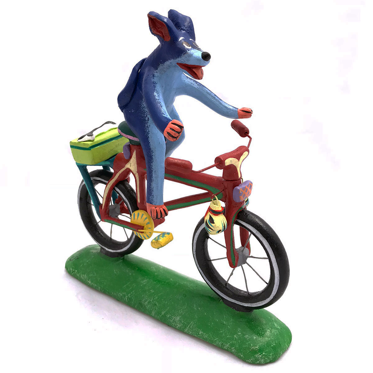 Gerardo Ortega & Family Gerardo Ortega & Family: Blue Dog Cyclist Dogs