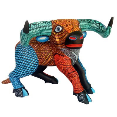 Mario Castellanos Gonzalez & Reina Ramirez Mario Castellanos & Reina Ramirez: Single Piece Bull Frog