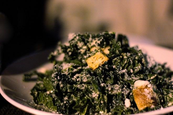 Flex Mussels - Kale Salad