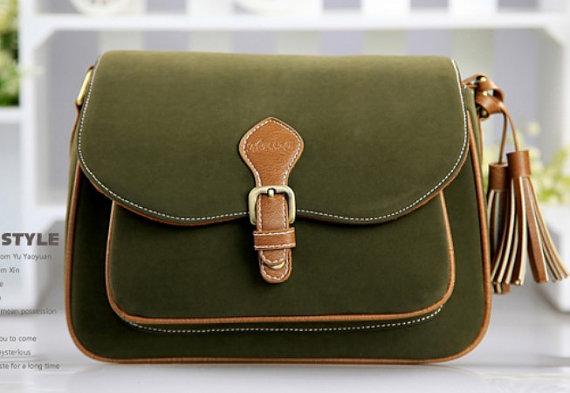 RowCowStudios - Green Camera Bag