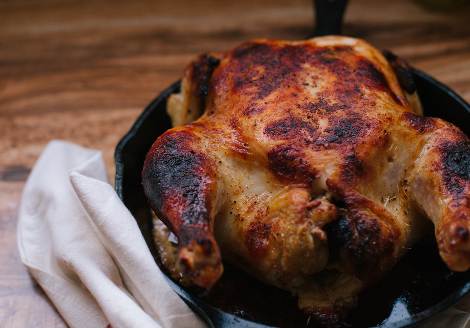 RECIPE // BUTTERMILK ROAST CHICKEN - Cultural Chromatics