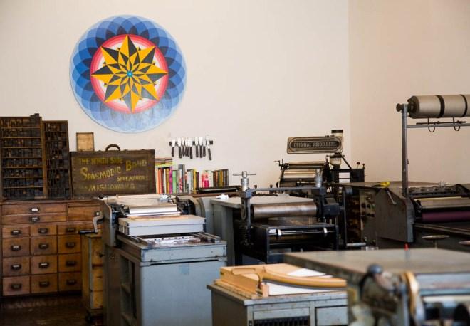 The Arm Letterpress in Brooklyn