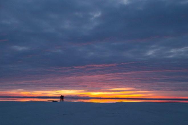 Bonneville Salt Flats sunrise | ©NanetteWong