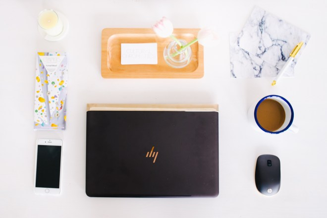Creative Essentials HP Spectre Flatlay