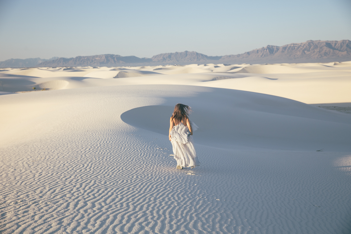 Visiting The White Sands National Monument in New Mexico
