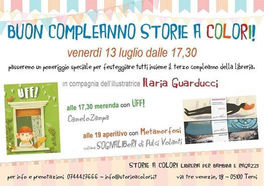 Buon Compleanno Storie A Colori At Storie A Colori Libreria Per