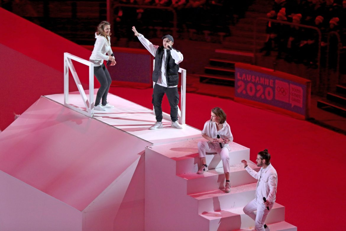 Start now – Official Lausanne 2020 Song
