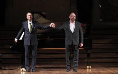 Conmovedor Schubert en el Palau