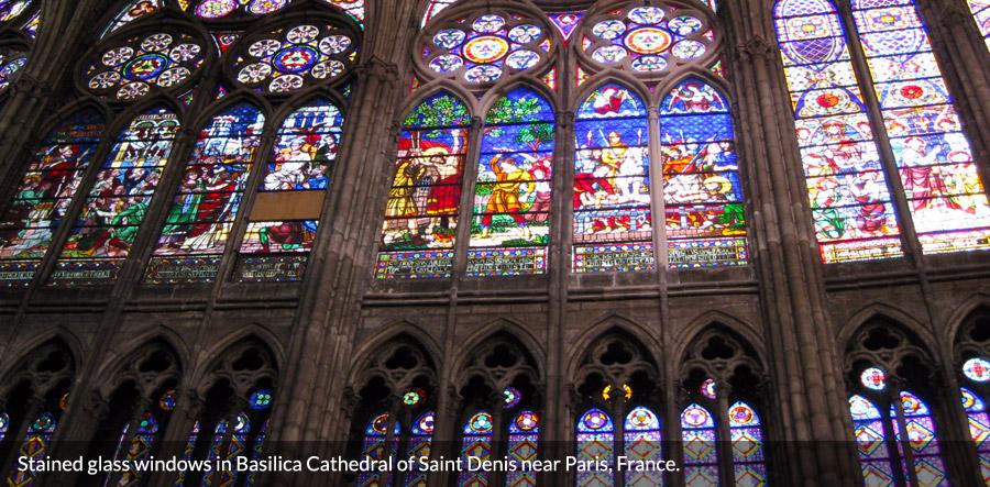 St Basilica Art Denis Gothic