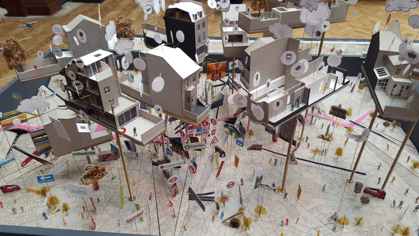 Planning Permission Granted architectural model