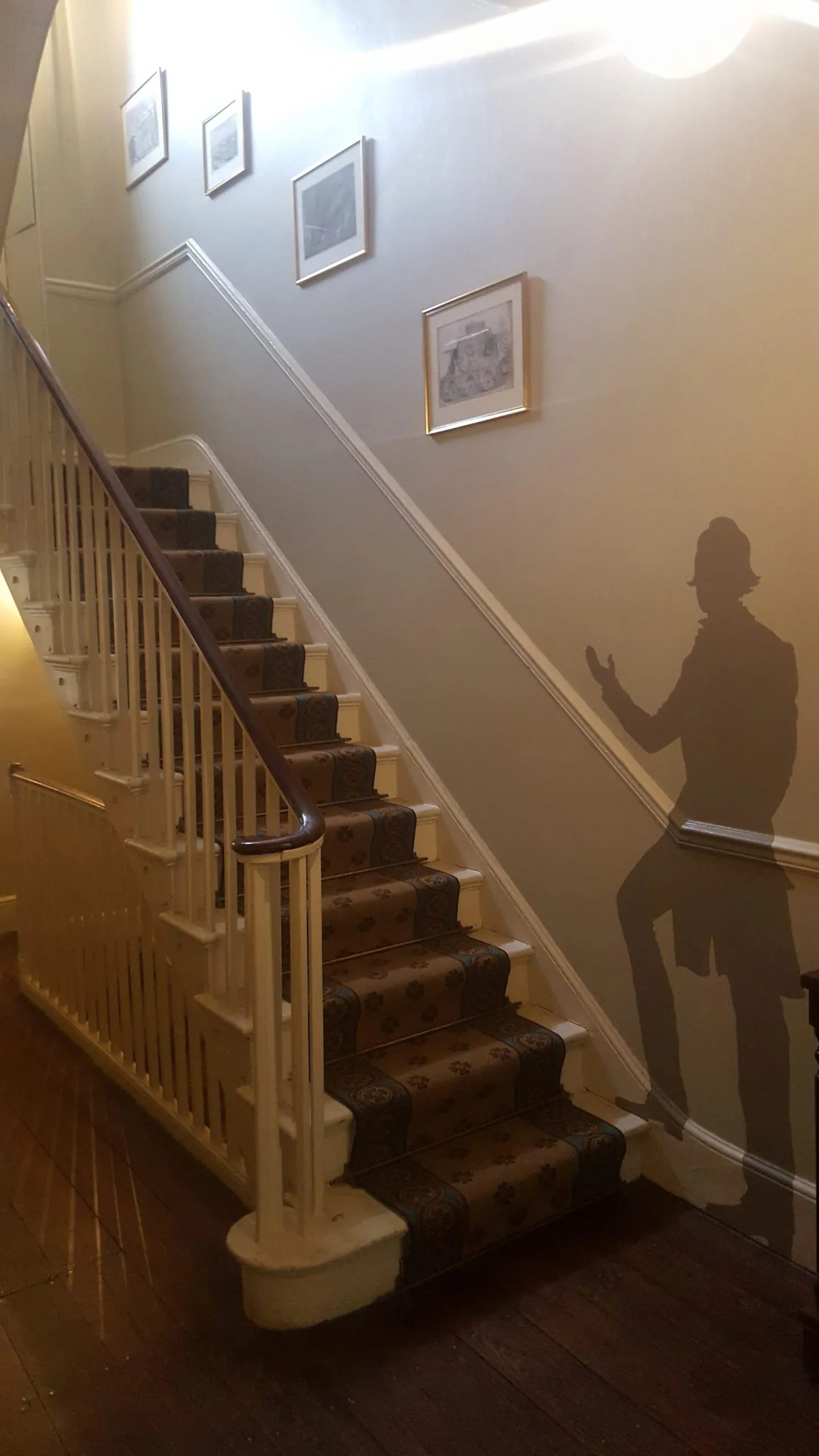 Dickens shadow invites visitors to discover the Charles Dickens Museum