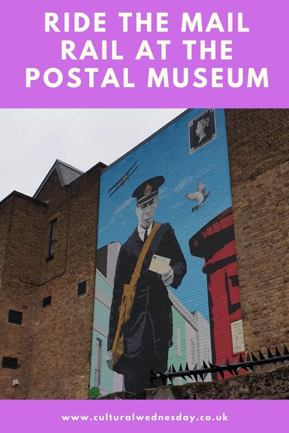 Take a ride on the train that used to ferry thousands of letters across London every day at the Postal Museum. #hiddenlondon #LondonDaysOut #LondonMuseum #LondonHistory