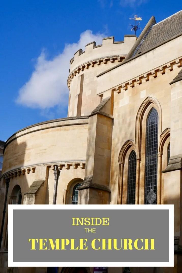 Inside the Temple Church London