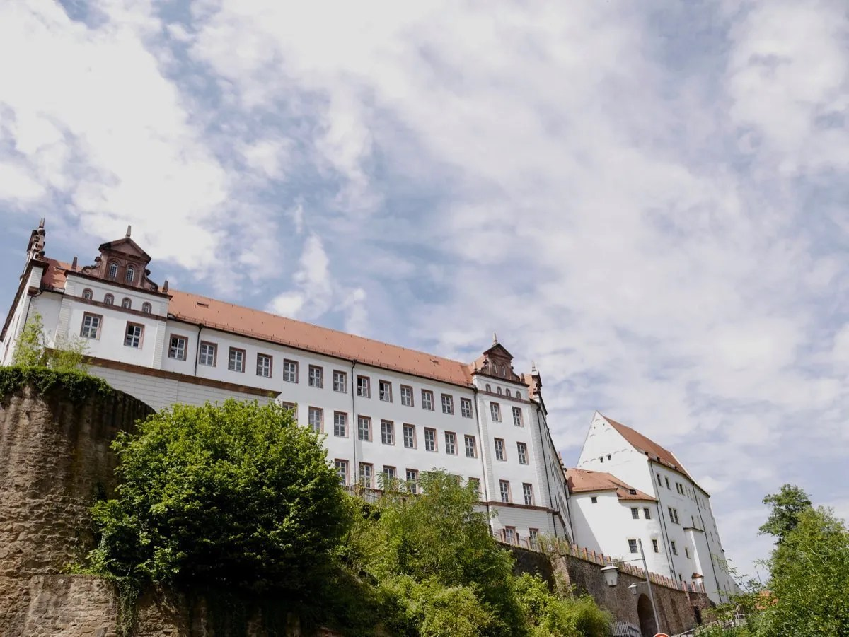 Staying at Colditz Castle, Germany