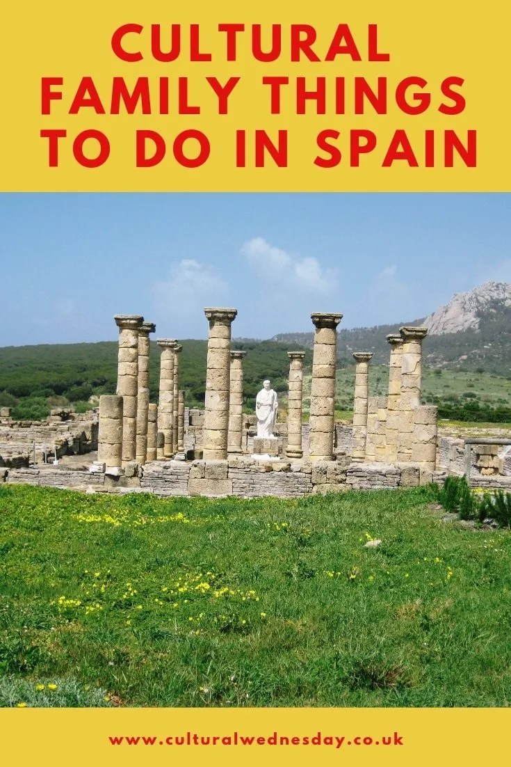 Cultural family things to do in Spain