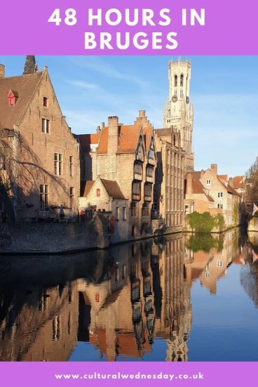 Bruges is the perfect destination for a weekend break.  Come with me to discover cute canals, medieval streets and amazing art in 48 Hours in Bruges. #TravelTips #SmallTownTravel #TravelDestinations #CityBreak #Belgium