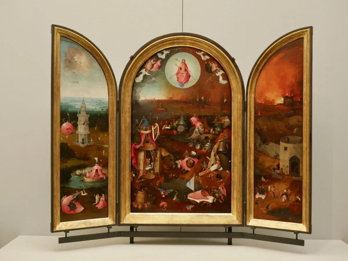 Heironymus Bosch altarpiece
