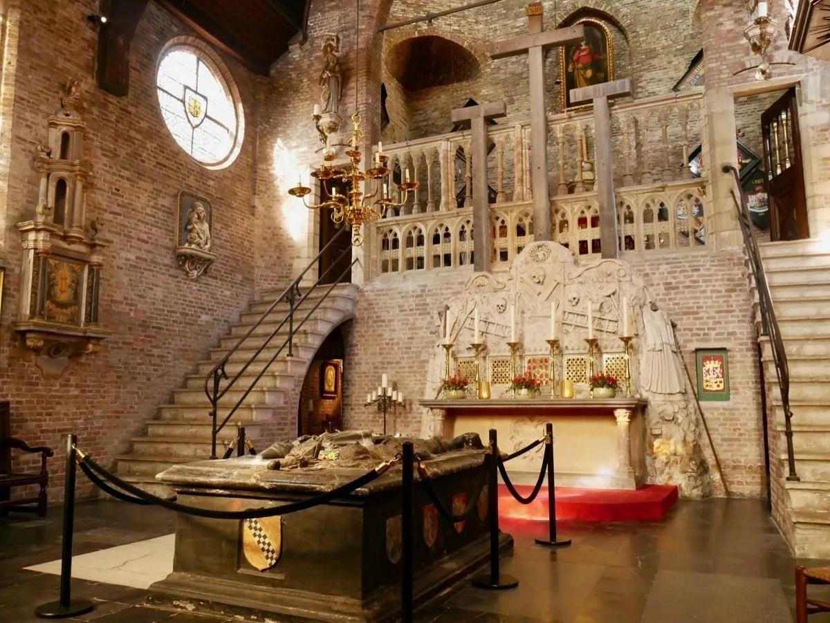 Jerusalem Chapel interior Bruges