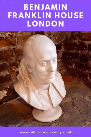 Benjamin Franklin House London, the only Benjamin Franklin residence still standing and one of London's hidden gems
