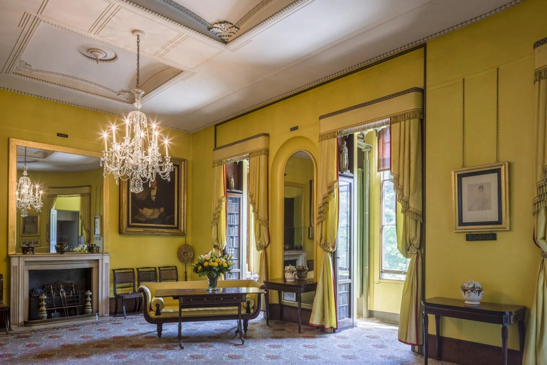 Regency yellow drawing room Soane Museum