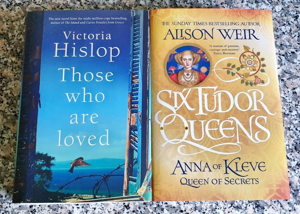 Summer Book Giveaway Victoria Hislop Those who are loved Alison Weir Anna of Kleves