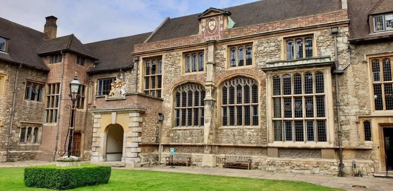 Masters Court London Charterhouse Tudor mansion