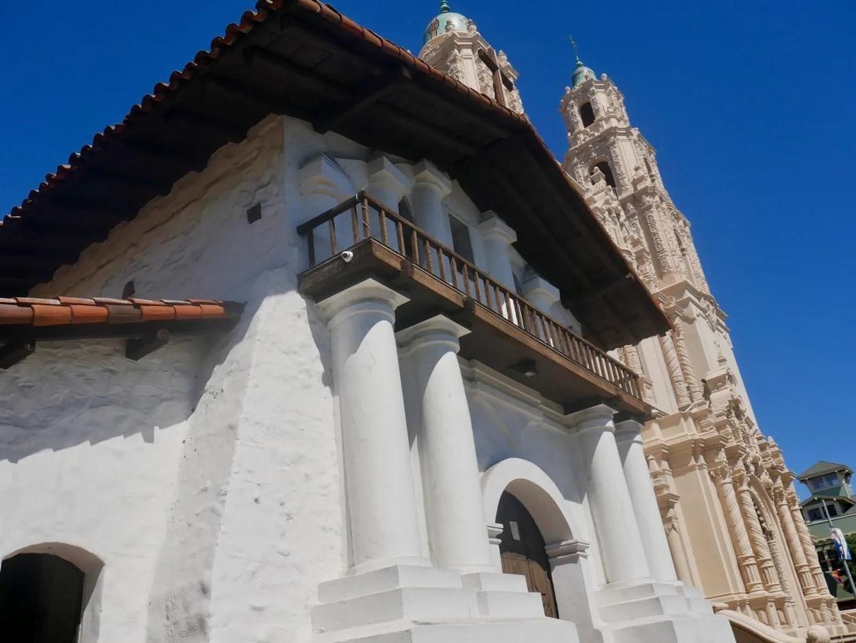 adobe Mission Dolores oldest building in San Francisco