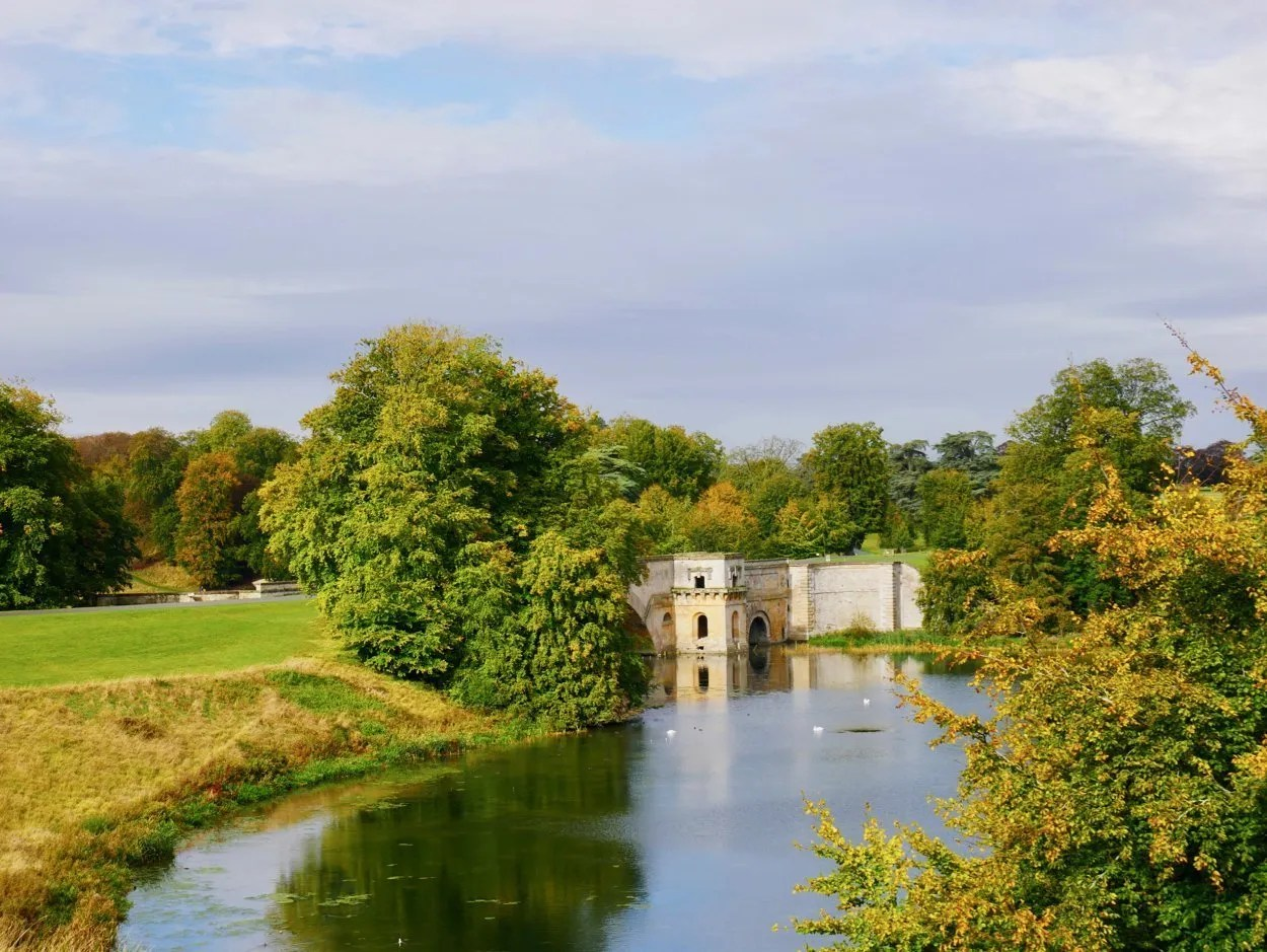 Vanburgh Great Bridge Blenheim