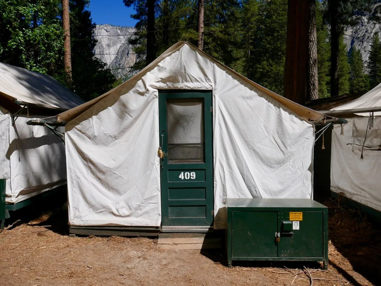 Staying in a Tent Cabin in Curry Village Yosemite
