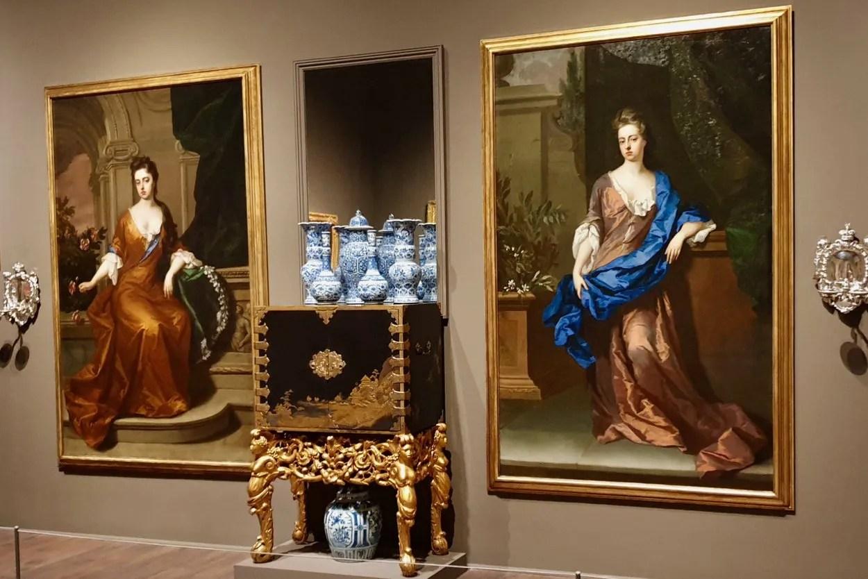 Petworth Beauties restored to full length portraits British Baroque Tate Britiain