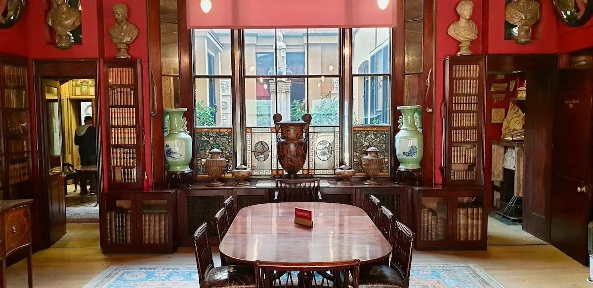 Dining Room Sir John Soane Museum