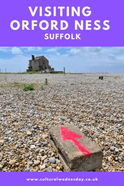 Visiting Orford Ness former secret military research site now a national nature reserve and area of outstanding natural beauty
