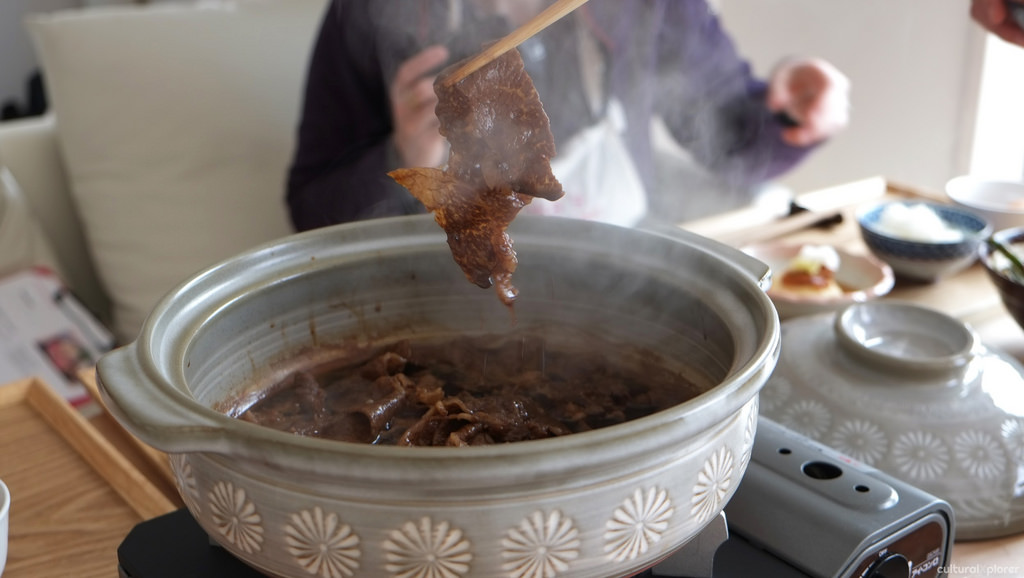 cooked sukiyaki