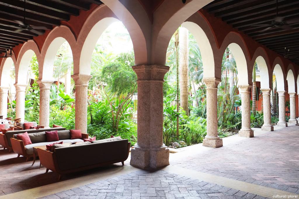 Santa Clara arches