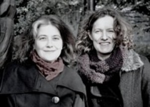 Rosa Ribas y Sabine Hofmann.