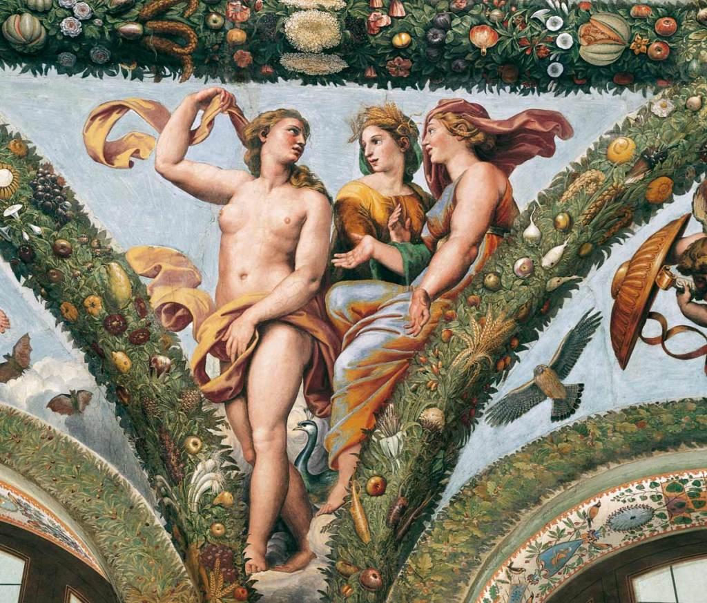 Venere con Cerere e Giunone