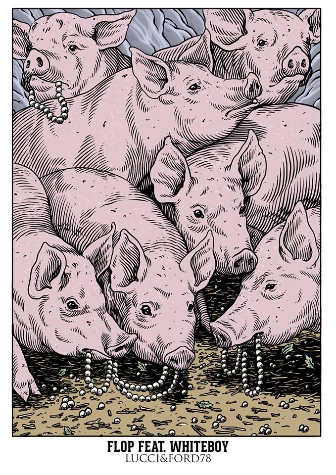 Intro, Lucci e Ford, grafica di Lucamaleonte