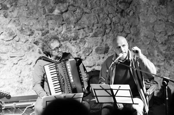 Fabio Prata con Giovanni De Folco dei Ned Ludd