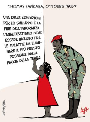 Una vignetta su Thomas Sankarà
