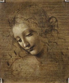 Leonardo da Vinci Testa di fanciulla detta 'La scapigliata', 1490 ca. Parma, Galleria Nazionale. © 2019. Foto Scala, Firenze