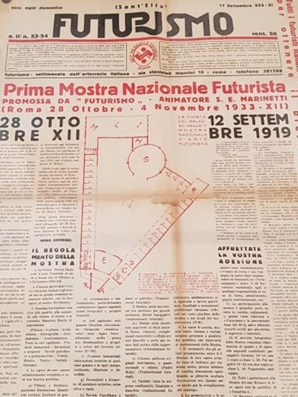 Futurismo, 17 settembre 1933