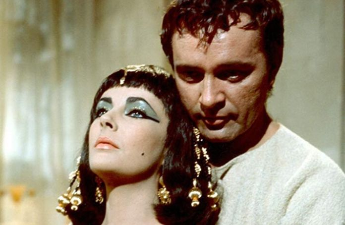 Una scena di Cleopatra