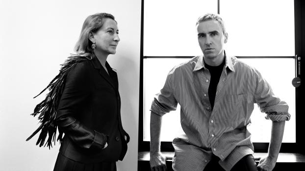 Raf Simons, Prada, co-direttore artistico, collaborazione